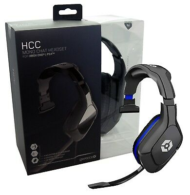 Gioteck HCC Wired Mono Gaming Headset for PS4/XBOX ONE S X NEW