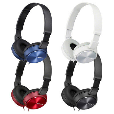 NEW Sony MDR-ZX310 Stereo / Monitor Over-Head Headphones