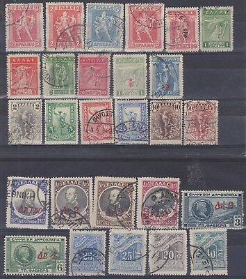90) Greece - Griechenland  1901 / 1932 - Used Selection / Sets