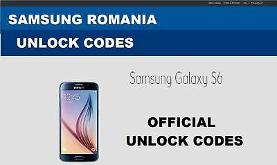 S3 , S4 , S5 S6 Orange Romania Samsung Unlock codes Vodafone DigiMobil Romania