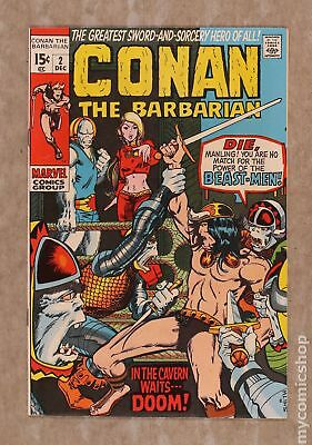 Conan the Barbarian (Marvel) #2 1970 VF- 7.5