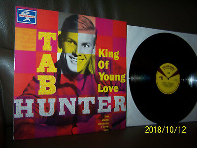 Tab Hunter LP King Of Young Love