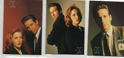 The X-Files Season 3 - 72 card Complete Base Set EX Topps 1996