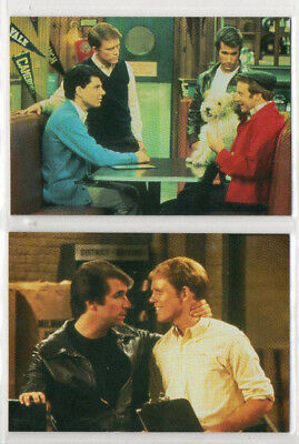 Happy Days -  Lot of 2 Different Promo Cards DuoCards 1 & 2