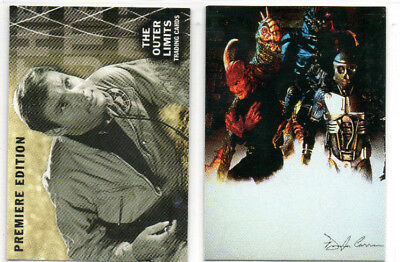 The Outer Limits - Lot of 2 Different Promo Cards - DuoCards Rittenhouse