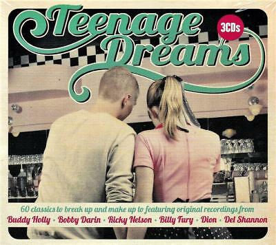 Teenage Dreams - Various Artists (New Sealed 3Cd)