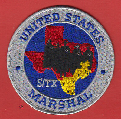 United States Marshal  Southern Texas Police Shoulder Patch