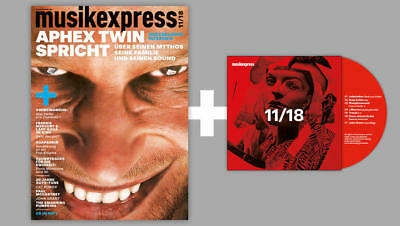 MUSIKEXPRESS November 2018 mit Aphex Twin, Paul Mccartney+ CD im Heft 11/18  WIE