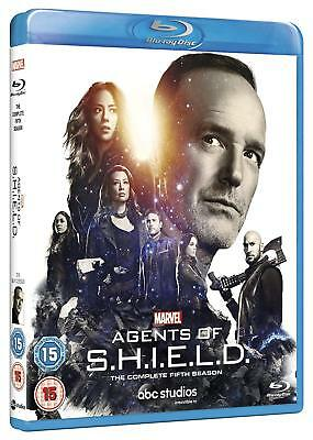 Marvel Agents of SHIELD S.H.I.E.L.D. Complete Season 5 Blu-Ray NEW Free Ship
