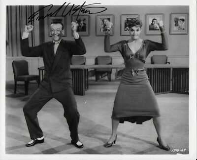 FRED ASTAIRE personally signed 10x8