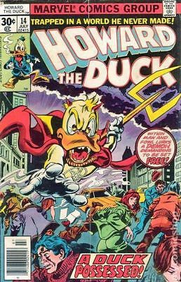 Howard the Duck (1st Series) #14 1977 FN Stock Image