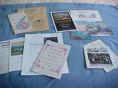 Big Lot No Res North Fork Long Island Art Paper Peconic Greenport Southold 13 Pc