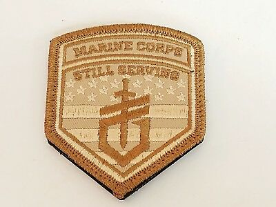 US Marine Corps Still Serving Blue Military Patch NEW