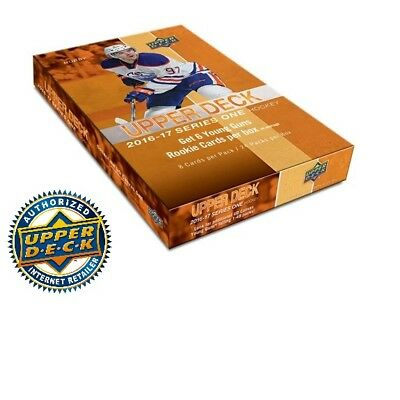2016/17 Upper Deck  Series 1 Hockey Hobby Box  New/Sealed