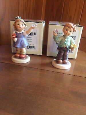 hummel figurines 2329 A Simple Wish And 2322 Sweetheart