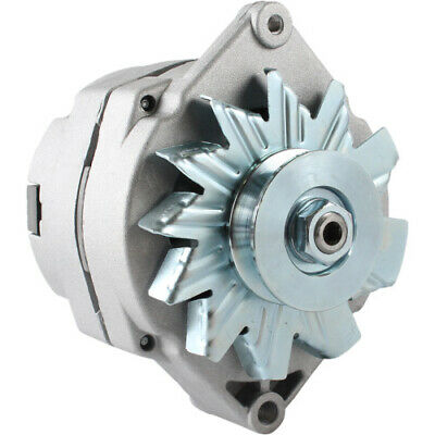 NEW ALTERNATOR FOR JOHN DEERE TRACTOR 63 Amp 10SI DELCO 1-WIRE 1/2 INCH PULLEY