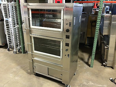 Hickory 10.10E Electric Rotisserie Oven