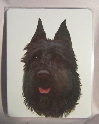 Retired Dog Breed BOUVIER Vinyl Softcover Address Book by Robert May