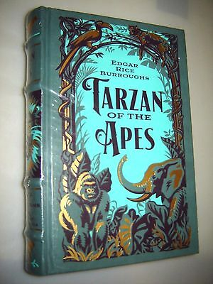 TARZAN OF THE APES by EDGAR RICE BURROUGHS- LEATHERBOUND & BRAND NEW sealed