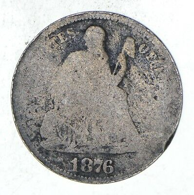 10c - CARSON CITY - 1876-CC Seated Liberty Dime *897