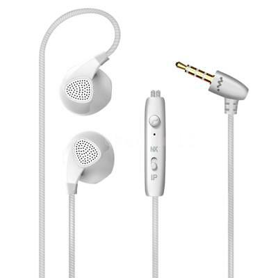 HONGBIAO SM S10 3.5mm Wired Headphones In-Ear Sport Earbuds Noise Isolating T6N7