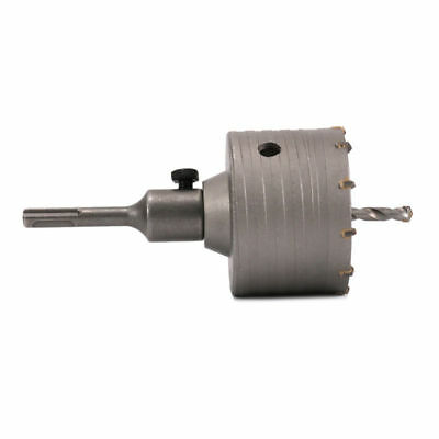 Core Saw Bit Drill 110mm Hole Cement Round 85mm Shank For With Wall Bricks Rod