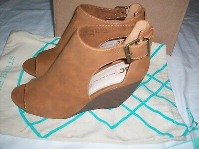 1a0a6cb29c5 BC FOOTWEAR WOMENS Wedge Heels Shoes Green Suede 7.5 Bows 4