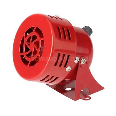Super Loud 12V 110DB Automotive Horn Car Truck Motorcycle Alarm Metal Red R1G6