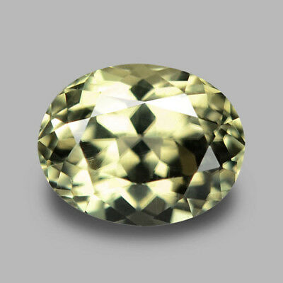 2.58Cts Calibrated 9X7Mm Oval Natural Color Shift Diaspore Video In Description