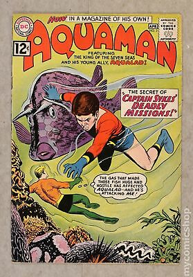 Aquaman (1st Series) #2 1962 FR 1.0