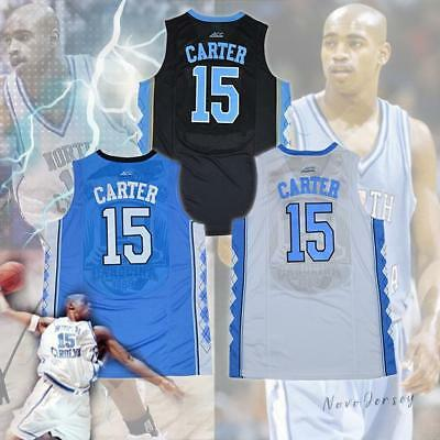 Vince Carter #15 North Carolina Tar Heels College Basketball Jersey