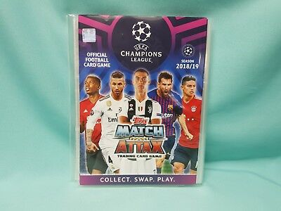 Topps Match Attax Champions League 2018/2019 Sammelmappe Binder 18/19