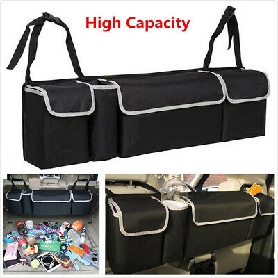 Oxford High Capacity Multi-use Car Seat Back Organizers For Interior Accessories