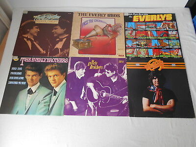 The Everly Brothers - Sammlung 6 LP's