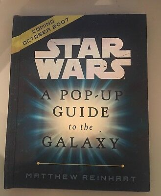 Star Wars Pop Up Guide To The Galaxy Promotional Item INSCRIBED
