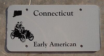 Conecticut Early American BLANK  license plate