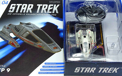 Star Trek Eaglemoss Starship Collection Uss Voyager Shuttle Typ 9 Ncc-74656  S04