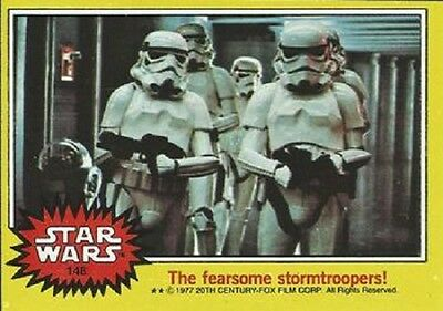 1977 Topps Star Wars Series 3 Yellow #148 The Fearsome Stormtroopers! > Poor