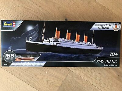 +++ Revell 05498 RMS TITANIC 1:600 Easy-click 05498
