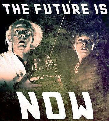 Back To The Future The Future Is NOW > Doc > Marty McFly > Flyer > Poster/Print