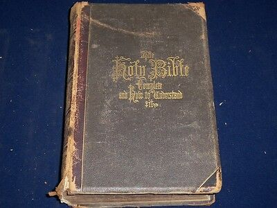1871 Hitchcock's Complete Analysis Of Holy Bible - Nast - Engravings - Kd 1022