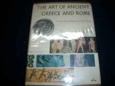 1967 The Art Of Ancient Greece And Rome Book By Giovanni Becatti - Kd 728R