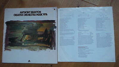 ANTHONY BRAXTON - Creative Orchestra Music 1976 (PROMO Arista AL 4080 US 1976)