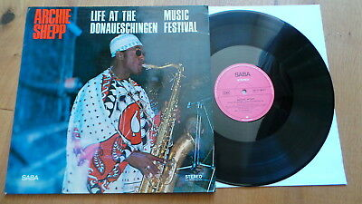 ARCHIE SHEPP - Life At The Donaueschingen Music Festival (SABA 15148 ST D 1967)