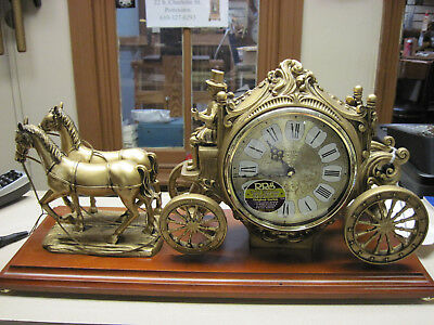 Rhythm Carriage Clock with 24 melodies and 6 Christmas tunes