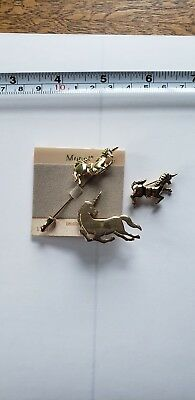 Unicorn Pin Trio - FREE SHIPPING
