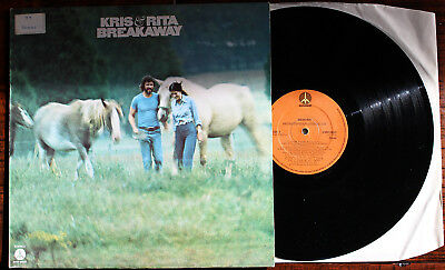 Kris Kristofferson & Rita Coolidge: Breakaway - Vinyl-LP (1974)