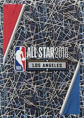 18/19 Panini Nba Sticker Foil #405 All Star Game 2018 Los Angeles *58167