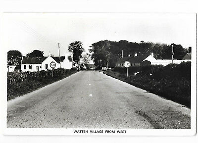 Scotland Watten Village from West nr Wick Real Photo Vintage Postcard