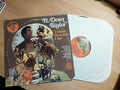 "12"" LP Xian - R. Dean Taylor - I Think Therefore I Am (10 Songs) Rare Earth"